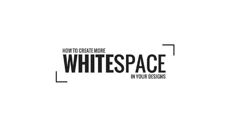 Uso dello spazio nel Web Design