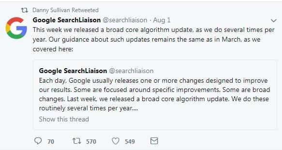 Dan Sullivan sul medic update
