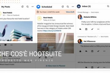 Che cos'è e come funziona il software per i social media Hootsuite.