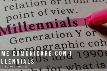 Come comunicare online con i millennials